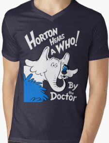 Horton Hears Doctor Who! Mens V-Neck T-Shirt