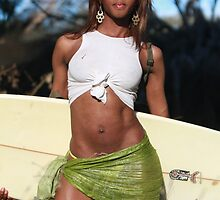 Ximena va surf by stjc