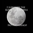 I survived the supermoon - 2014 by Kane Gledhill