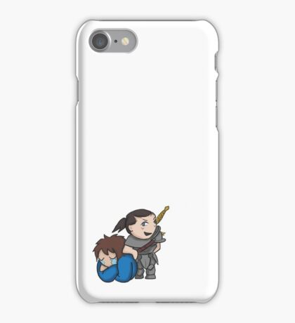 I Struggle with Muscular Women With Swords iPhone Case/Skin