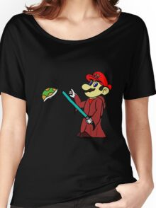 Jedi Mario Women's Relaxed Fit T-Shirt