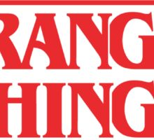 Stranger Things Merchandise Sticker