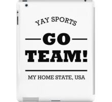 Go Team iPad Case/Skin