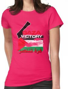 Gaza Victory Womens Fitted T-Shirt