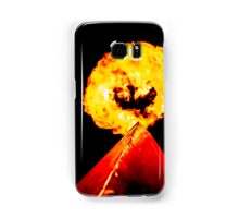 Phoenix Flame Tower Samsung Galaxy Case/Skin