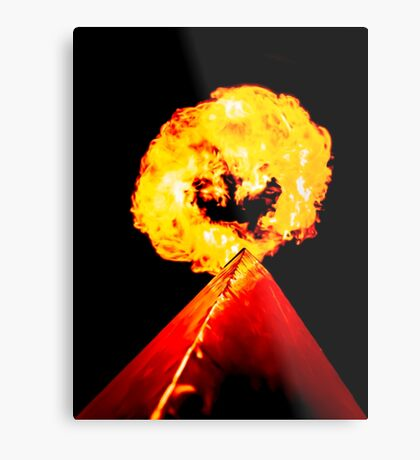 Phoenix Flame Tower Metal Print