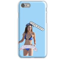 Nina Dobrev *Touches the booty* iPhone Case/Skin