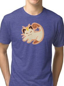 Meow King Tri-blend T-Shirt