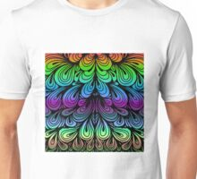 Abstract Folds Unisex T-Shirt