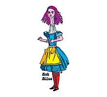 Ask Alice - Alice in wonderland Photographic Print