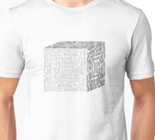 Square Cube Unisex T-Shirt