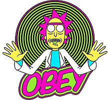 Obey Rick Photographic Print