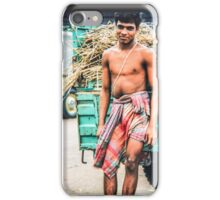 Bringing agricultural crop to market iPhone Case/Skin