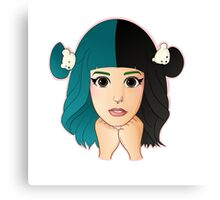 Melanie Martinez Cartoon Canvas Print