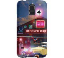 He's Not Here Bar Samsung Galaxy Case/Skin