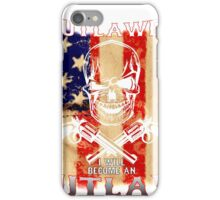 If guns are outlawed iPhone Case/Skin