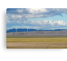Capital Wind Farm (Australia) Canvas Print