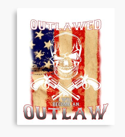 If guns are outlawed Canvas Print