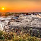 Sunset at Morston Creek by timmburgess