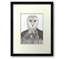 Doctor Whoot Framed Print