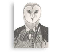 Doctor Whoot Canvas Print