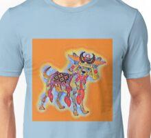Samurai Chihuahua Mosaic Unisex T-Shirt