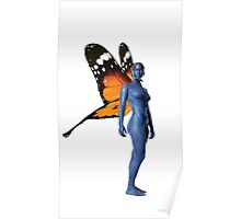 mystique with wings Poster
