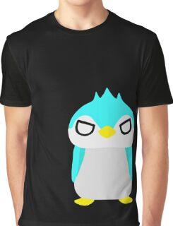 Thug Penguin Graphic T-Shirt
