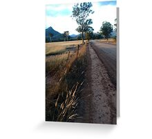 Road to somewhere Greeting Card
