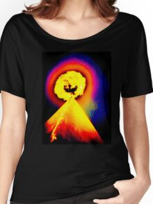 Phoenix Flame Rainbow Women's Relaxed Fit T-Shirt