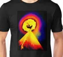 Phoenix Flame Rainbow Unisex T-Shirt