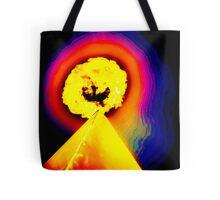Phoenix Flame Rainbow Tote Bag