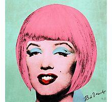 Bob Marilyn Monroe Variant 2 Photographic Print