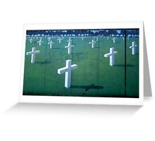 They Gave Their Lives for Our Freedom Greeting Card
