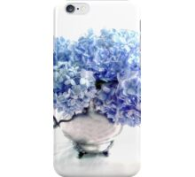 Endless Summer Hydrangeas in an Antique Silver Pitcher iPhone Case/Skin