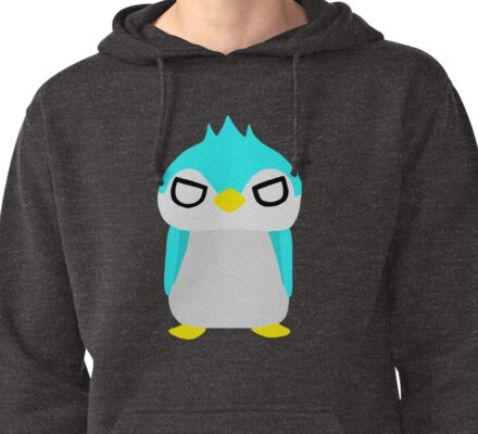 Thug Penguin Pullover Hoodie