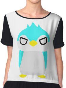 Thug Penguin Chiffon Top