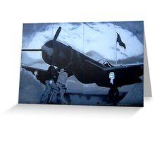World War II - Flying Aces Greeting Card