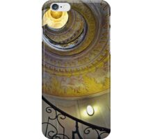 Looking upwards on the staircase  iPhone Case/Skin