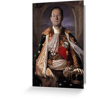 The Current King Of England- Mycroft Holmes Greeting Card