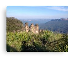 Three Sisters, Blue Mountains, Australia Canvas Print