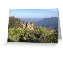 Three Sisters, Blue Mountains, Australia Greeting Card