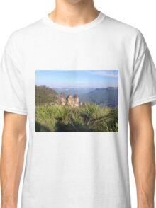 Three Sisters, Blue Mountains, Australia Classic T-Shirt