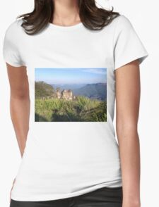 Three Sisters, Blue Mountains, Australia Womens Fitted T-Shirt