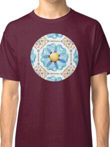 Blue Daisy Boho Classic T-Shirt