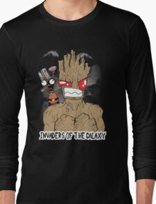 Invaders Of The Galaxy Long Sleeve T-Shirt