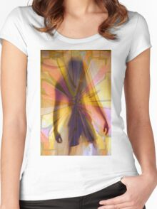 The Haunting Specter Women's Fitted Scoop T-Shirt