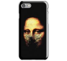 monalisa inmolatio iPhone Case/Skin