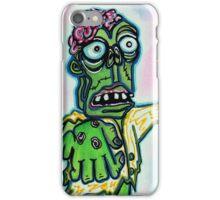 My Pet Zombie #4 - Here Boy iPhone Case/Skin