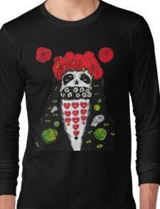 Grimes Artwork #2 Long Sleeve T-Shirt